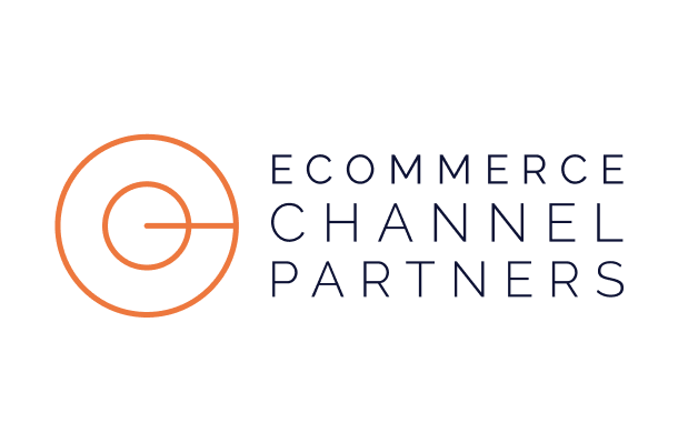 ecommerce channel partners with dark text branding